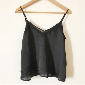 Forever 21 Black Camisole Tank Top